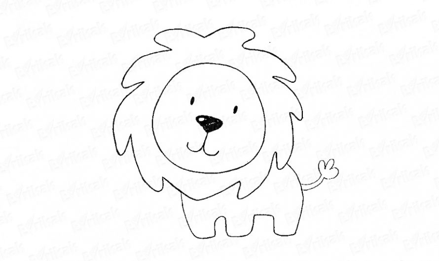 Как нарисовать льва